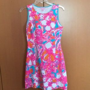 608b015d94c795 Lilly Pulitzer Dresses | Lily Pulitzer Whiting Dress Feeling Tanked ...